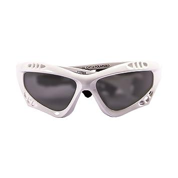 Ocean Sunglasses Australia - Gafas de Sol polarizadas - Montura : Blanco Brillante - Lentes :