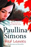 Red Leaves by Paullina Simons front cover