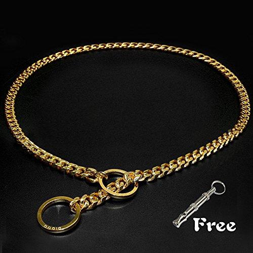 [Didog Luxury Titan Choke Chain Collar,Best for Pit Bull, Doberman, Mastiff, Bulldog(24