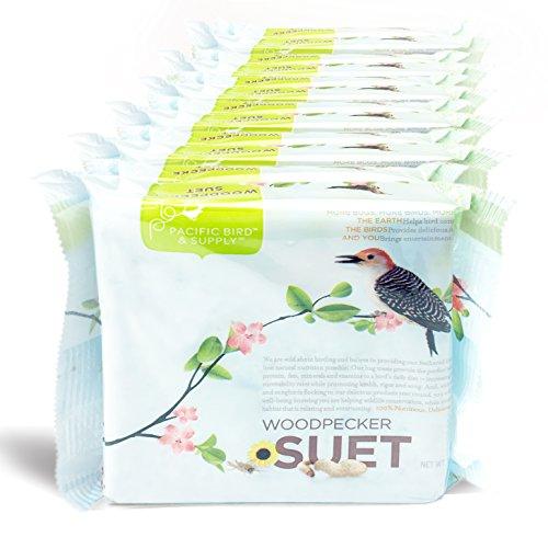 (Pacific Bird & Supply Co Woodpecker Suet Cake PB-0031 (Case of 12))