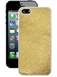 Hot Buckles Gold Plate iPhone 5/5s Case (White)