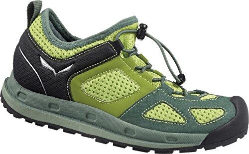 SALEWA JR SWIFT - Zapatillas De Deporte Para Exterior de material sintético infantil Verde / Verde   (Myrtle / Cactus 4045)