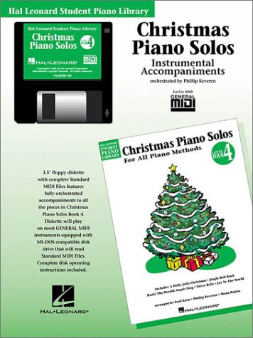 Christmas Piano Solos - Level 4 - GM Disk: Hal Leonard Student Piano Library