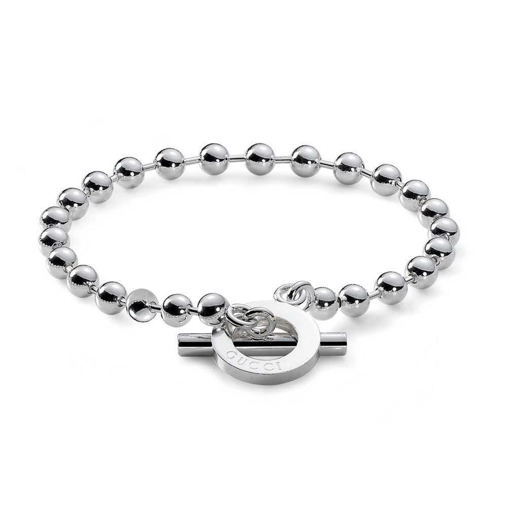 Gucci Women's Boule Bracelet Silver 17 cm (6.7 in)
