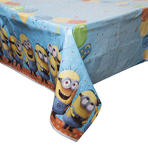 (Despicable Me Plastic Tablecloth, 84