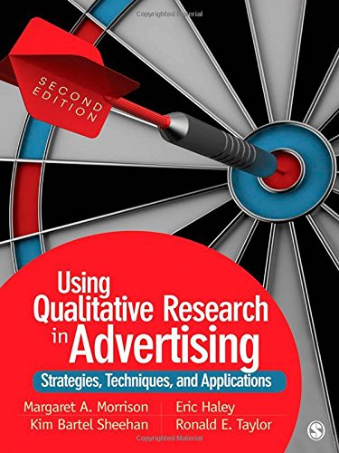 Using Qualitative Research In Advertising  Strategies  Techniques  And Applications