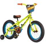 Mongoose 16'' Lil Bubba Boys' Fat Tire Bike R0638WM, Neon Yellow