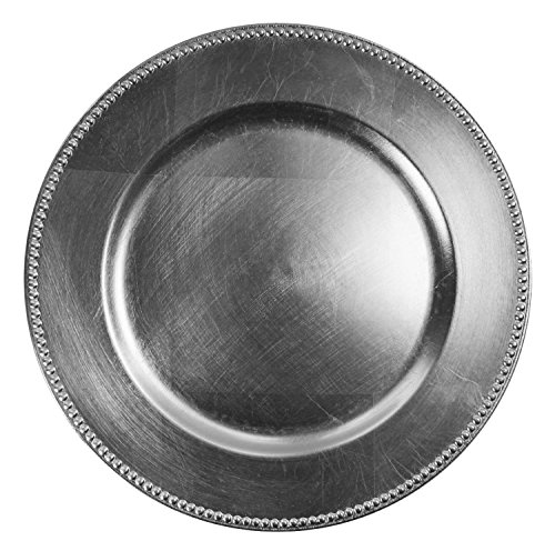 chargeit-by-jay-beaded-charger-plate-silver-set-of-12