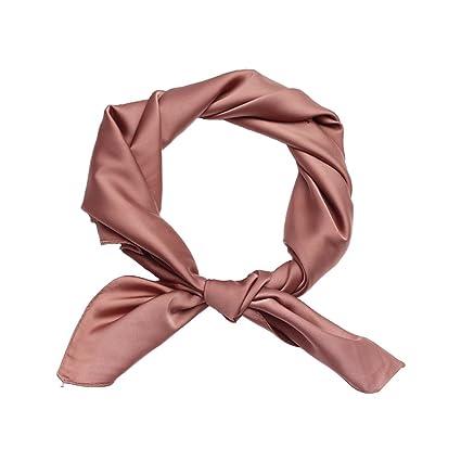 sélectionner pour dernier éclatant mieux choisir Qinlee Couleur Unie Sauvage Bandanas Couvre-Chef/Cheveux ...