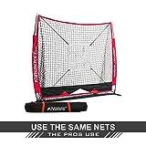 Rukket 5x5 Baseball & Softball Practice Net with Strike Zone Target and