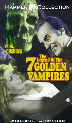DVD : The Legend of the 7 Golden Vampires [VHS]