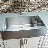 Hahn Chef Series Handmade Extra Large Single Bowl Farmhouse Kitchen Sink