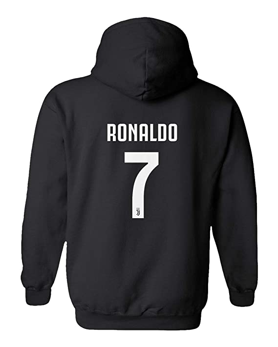 1a37b4d0afc Amazon.com : Smart Zone CR7 Soccer Hoodie Cristiano Ronaldo Men's Sweatshirt  : Clothing