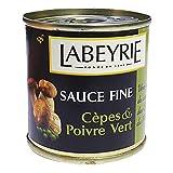 King Bolete Mushroom and Green Peppercorn Sauce - 90 g (Labeyrie, France)