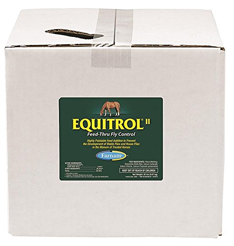 Parasite Control - Equitrol II Feed-Thru Fly Control for Horse, 20-Pound