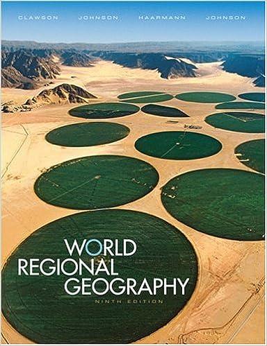 Books a la carte for world regional geography (9th edition): david.