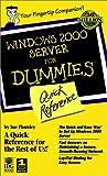Windows 2000 Server for Dummies, Sue Plumley, 0764506625