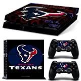 FriendlyTomato PS4 Console and DualShock 4 Controller Skin Set – Football NFL – PlayStation 4 Vinyl For Sale
