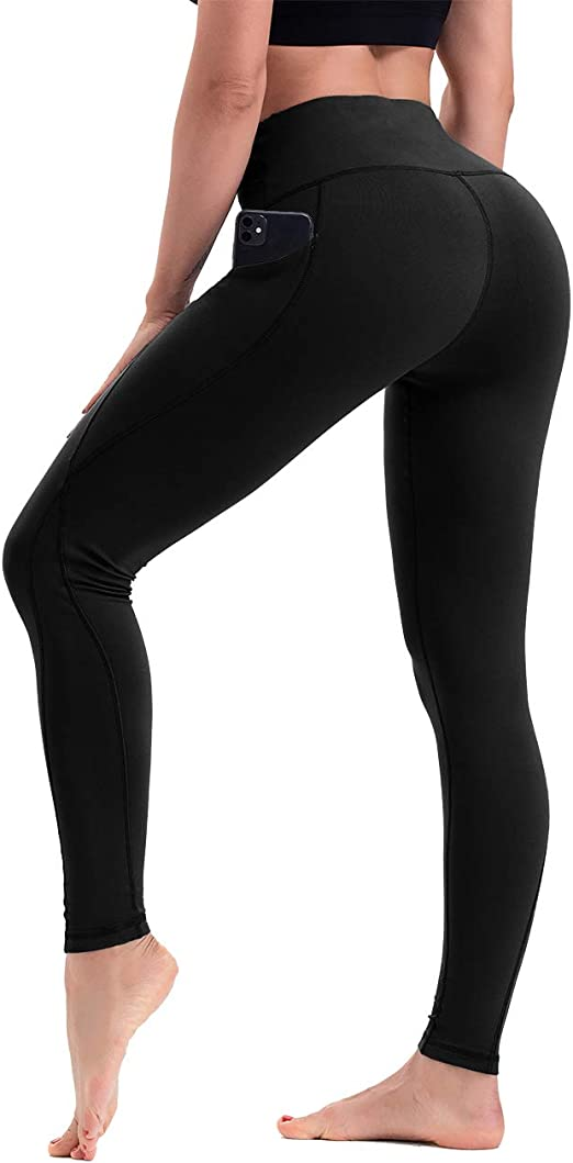 Womens Lounging Pants High Waisted Yoga Leggings for Gym Running Jogging