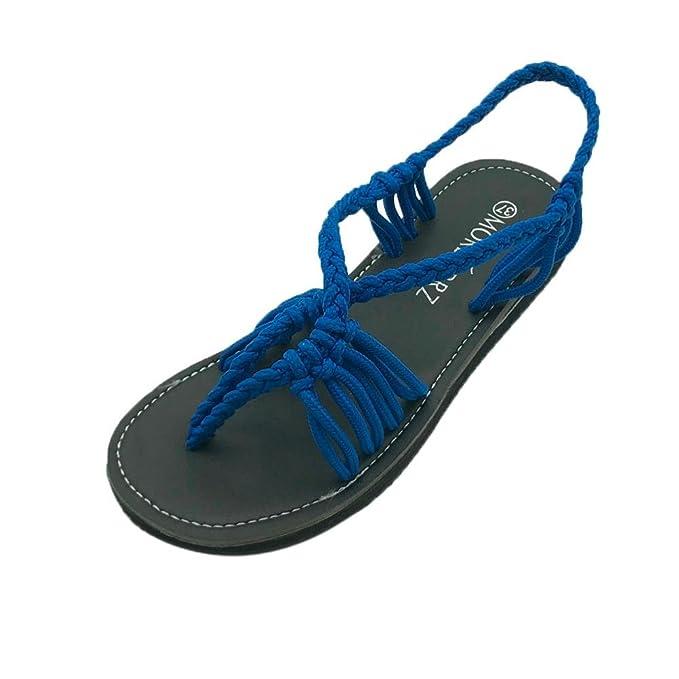 PLOT Promotionen Damen Sandalen Sommer2018 Hot Sale Einfarbig Perle Sandalen Flach Damen Draussen Strandschuhe