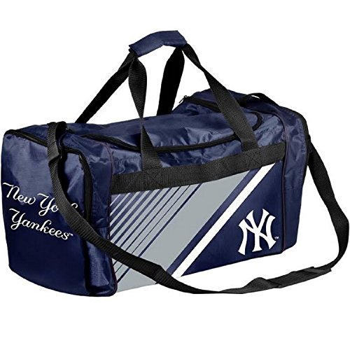 Yankees York New Border (FOCO New York Yankees Border Stripe Duffle Bag)