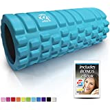 321 STRONG Foam Roller - Medium Density Deep Tissue Massager for Muscle Massage and Myofascial Trigger Point Release, with 4K eBook