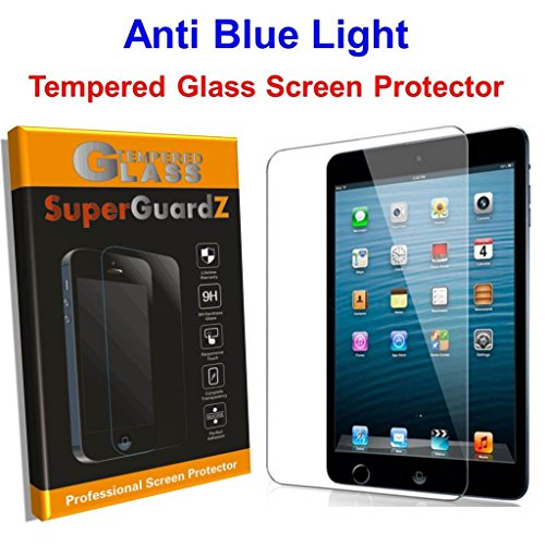 2 Pack For Ipad Air 2 Ipad Air 1 Ipad Pro 9 7 Superguardz Tempered Glass Anti Blue Light Eye Protect Screen Protector Lifetime Replacement 9h Anti Chip Edge Shatterproof