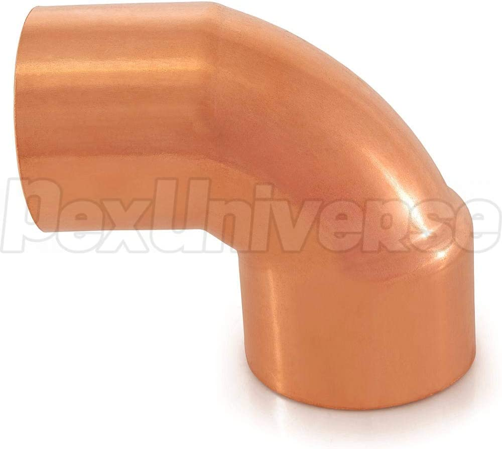 Pack of 10 2 FTG x Copper 90/° Street Elbow