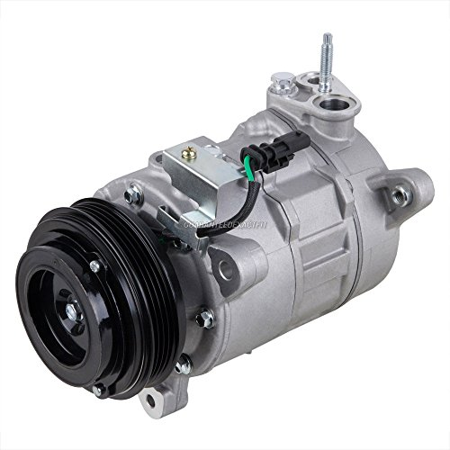 AC Compressor A/C Clutch For Cadillac Escalade Chevy Suburban Tahoe GMC - BuyAutoParts 60-03727NA New