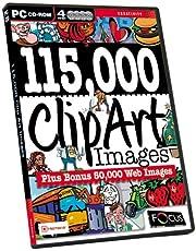 115,000 Clip Art Images (plus Bonus 50,000 Web Images)