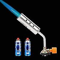 1300 ℃ Pistola de soldadura por soplado de gas Pistola de soldadura de encendido manual Antorcha de gas de llama abierta…