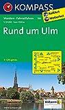 Rund um Ulm: Wanderkarte mit Radwegen. GPS-genau. 1:50000 (KOMPASS-Wanderkarten, Band 789)