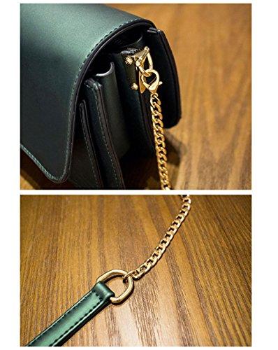 Lady Bolsos Mujeres De Green De Color Señora De Golpe Para Pack Bolsos Superior Fashion Bolsos Bolso Wild De Regalos Mujer Mango qvxHnStwt