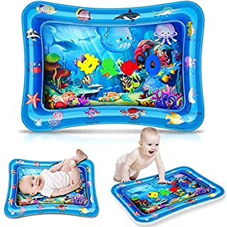 Tummy Time Baby Water Mat Inflatable Baby Play Activity Center for Infant Baby Toys 0 to 24 Months,Baby Gifts for Newborn Boys Girls