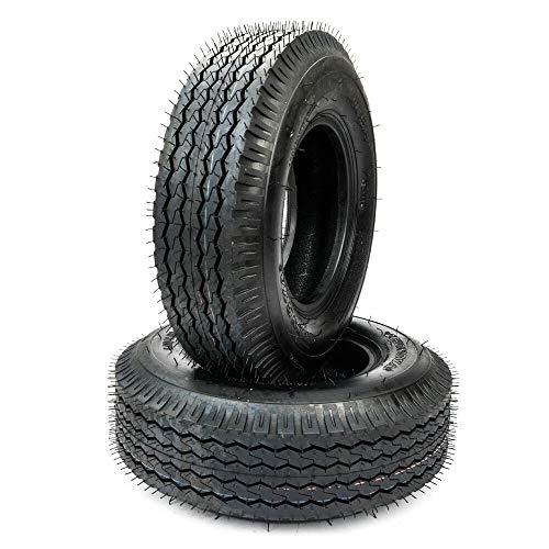 (Motorhot 4.00/4.80-8 Trailer Tire Load Range C 4 PR Bias Boat Tires 480-8 4.00-8(Pack of 2))