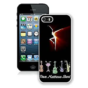 100% brand new dave matthews band fire dancer White iPhone 5 5S Case