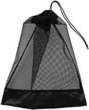 Baosity Heavy Duty Compact Mesh Drawstring Storage Bag for Scuba Diving Snorkeling Swimming Mask Fins Goggles