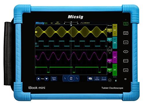 Micsig Tablet Oscilloscope 100MHz 2CH 1GSa/s tBook TO1102