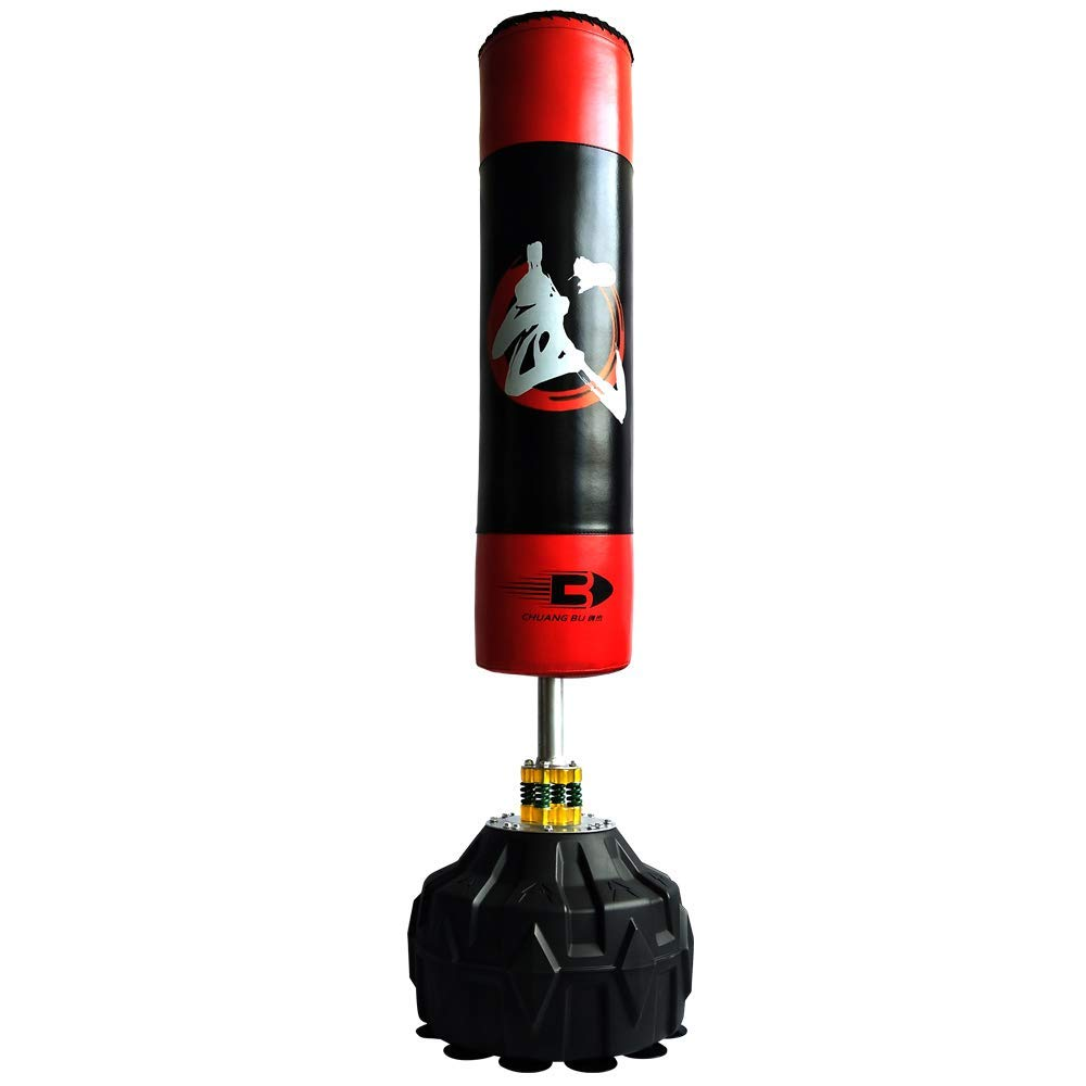 MIRROR SHOP サンドバック スタンド型 ボクシング 吸盤付き サンドバッグ キックボクシング ミット トレーニング器具 気分転換 ストレス解消 MS-0de90