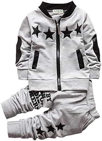 69c1bcfb7063a BibiCola Baby Boy Clothes Toddler Boys Outfits Suit Bebe Star Clothing Set  Cotton Long Sleeve T