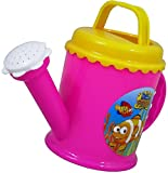 Plastic Watering Can Hello Fishy PINK Beach Sand Water Bath Kids Children Gift Plastic Toys Garden Plants Tools Fun Play Sandpit Fish Flower