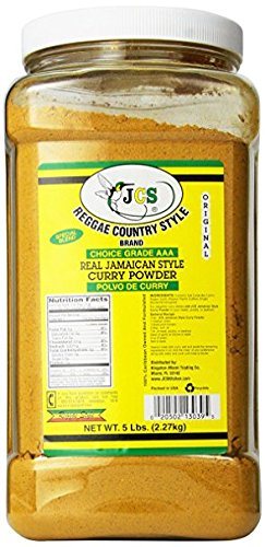 Reggae Country Style Jamaican Curry Powder 5 Lb (2 Pack) by Reggae Country Style