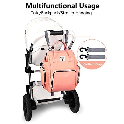 Mummy Matcha Backpack Capacity Nappy Vert Diaper Baby Large Bag Travel Function Multi TwqvBgOB