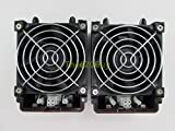 Lot of 2 Supermicro FAN-0082L4 80mm Hot-Swappable Exhaust Axial Cooling Case Fan