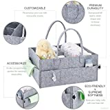 PeekaBaby Upgraded Baby Diaper Caddy Organizer