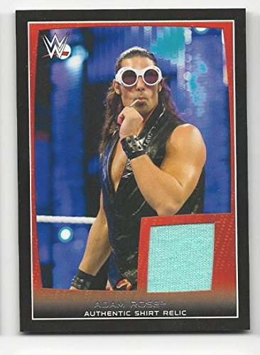 2015 Topps WWE Road To WrestleMania Swatch Relics Shirt Adam Rose #NNO MEM from Road To WrestleMania Swatch Relics Shirt