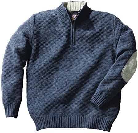[ヘリンボーンクラブ] Herringbone Club アウトラスト ハーフジッパー セーター 日本製 メンズファッション ニットセーター