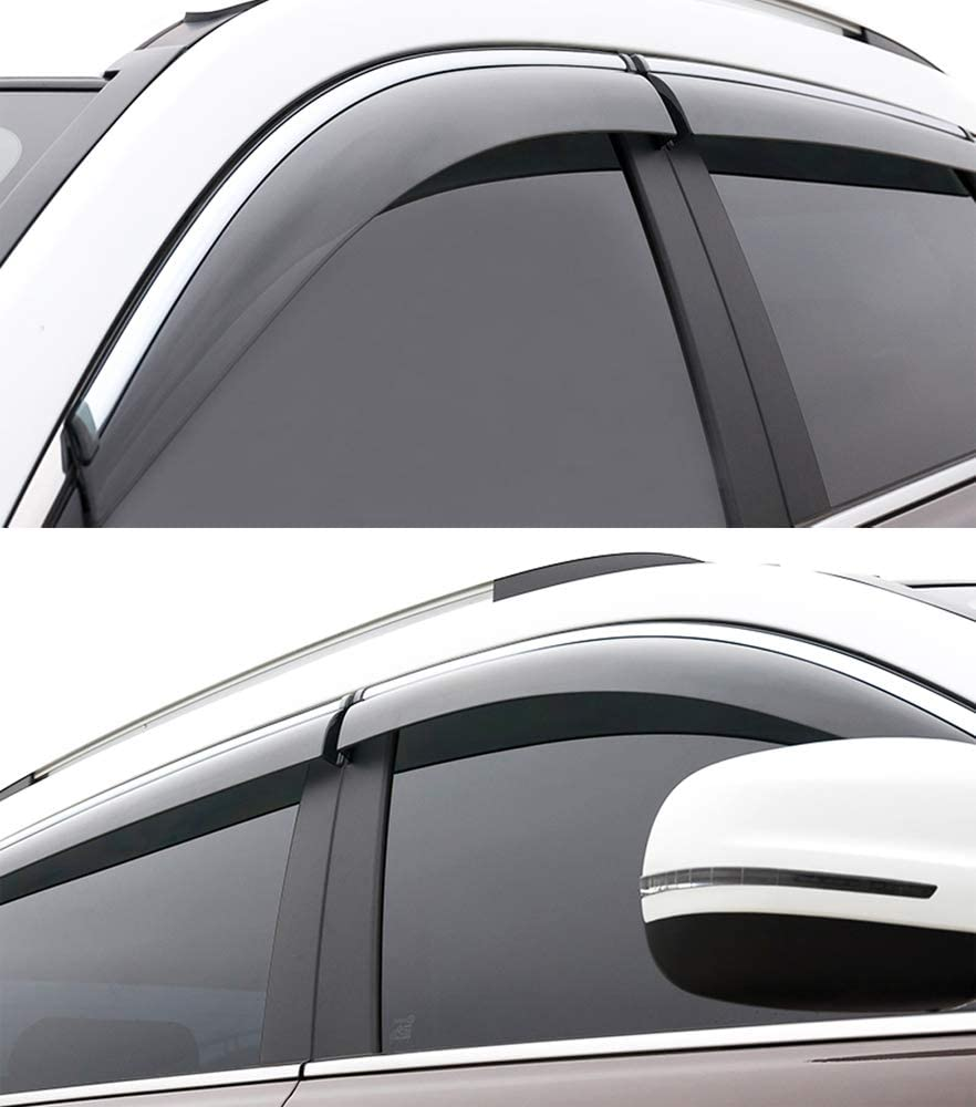 SPEEDLONG 4Pcs Car Window Visor Vent Shade Deflector Sun//Rain Guard for Toyota Camry 2012 2013 2014