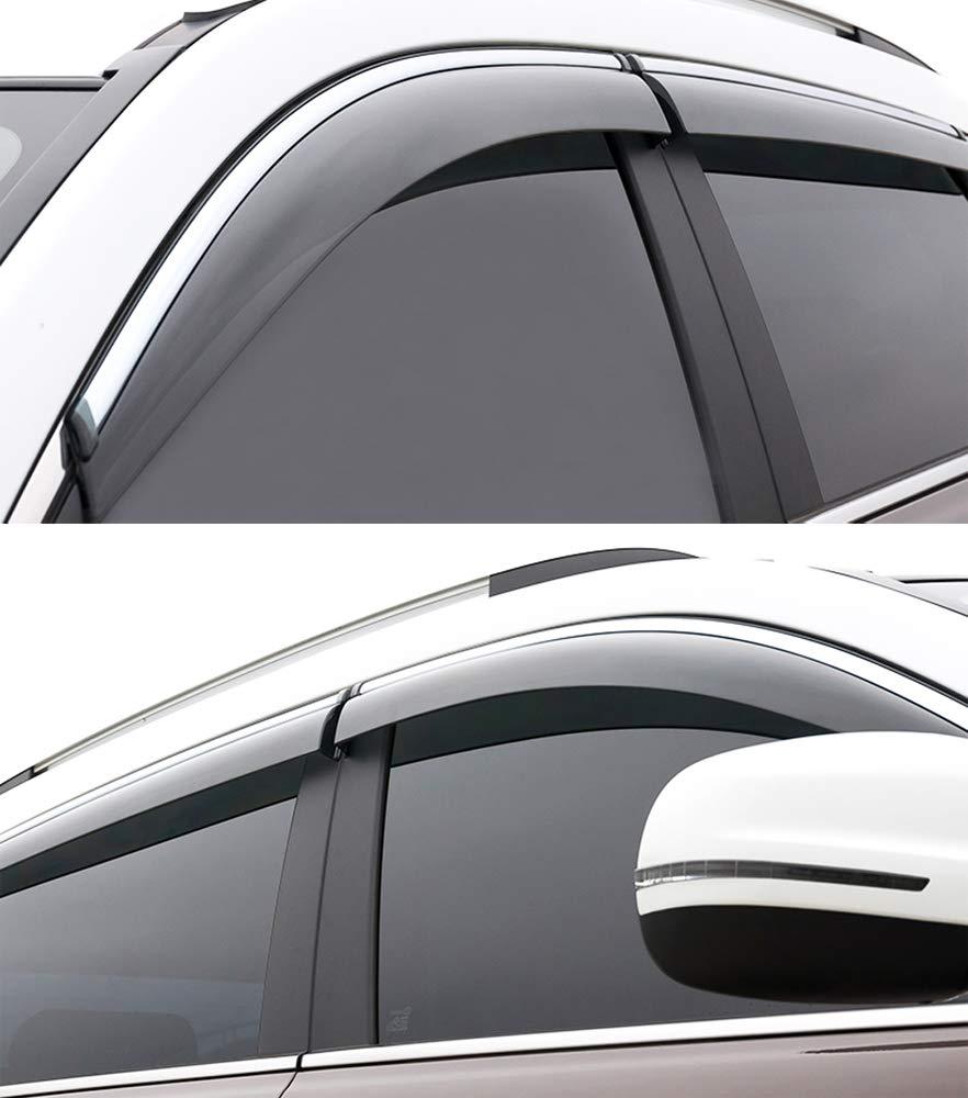 SPEEDLONG 4Pcs Car Window Visor Vent Shade Deflector Sun//Rain Guard for Honda CR-V 2017-2019 Honda CR-V 2017-2019