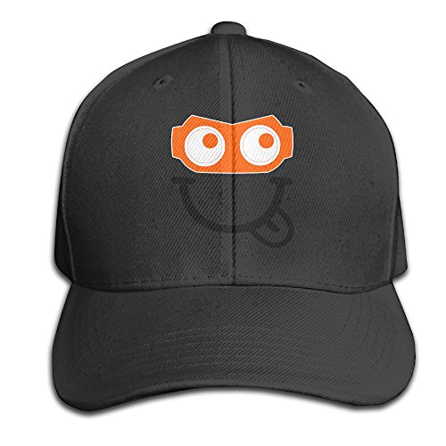 KF26 Mr Clip Robot Logo Made From 100% Cotton. 3.5 Inches High. Baseball-caps Gifted For Both Men And Women. Hand Washable. ()